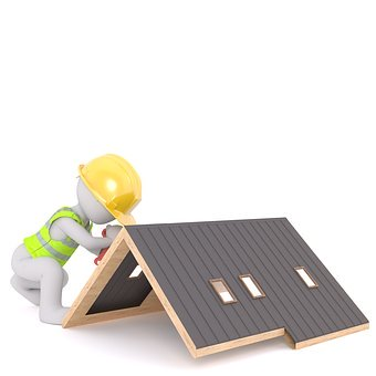 Roof, Roofers, Craft, Profession, Brick