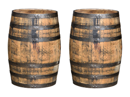 Whiskey Barrels, Barrels, Whisky